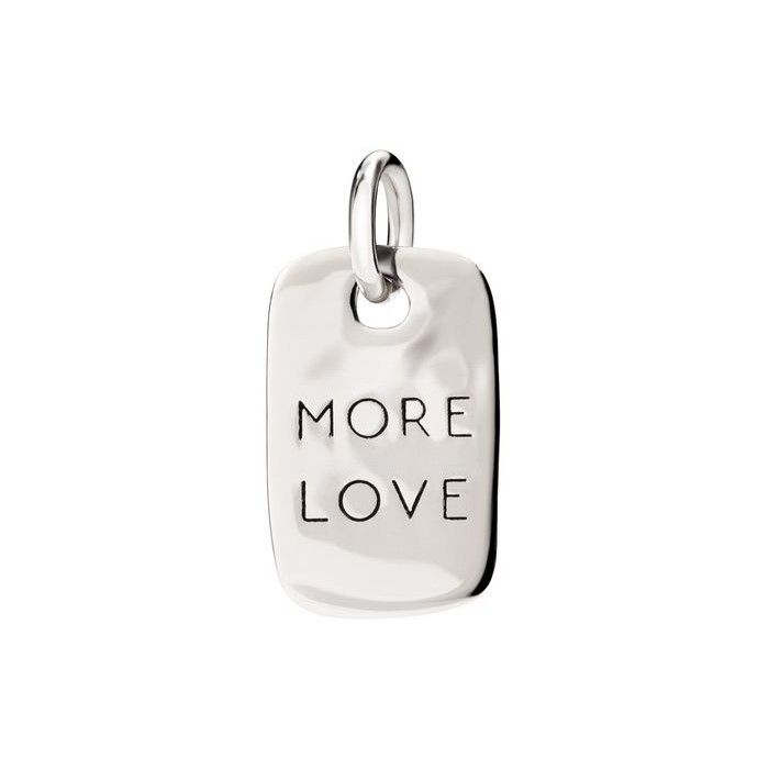 Piastrina argento More Love