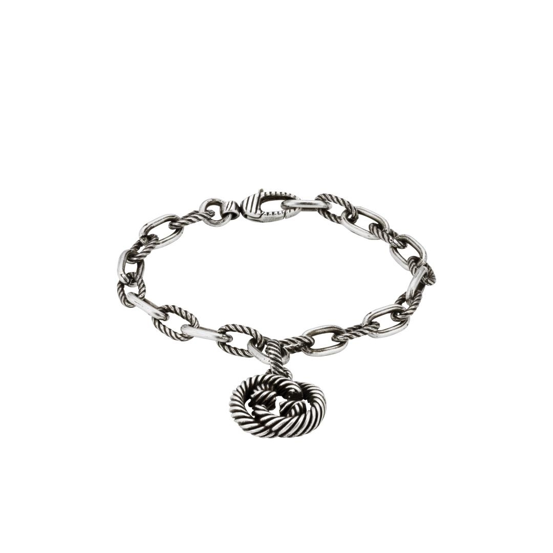 Bracciale Gucci Interlocking in argento