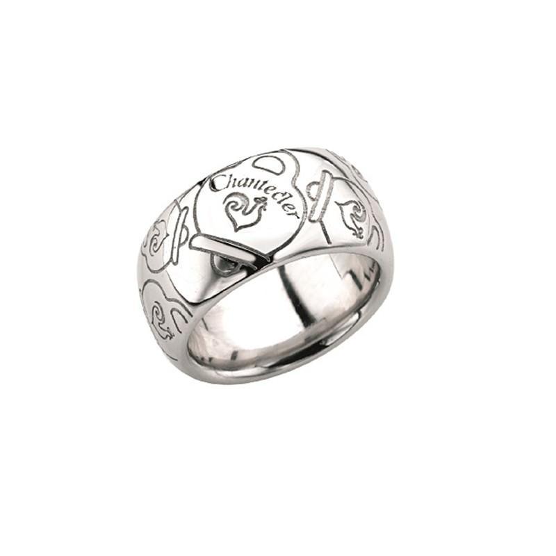 Anello a fascia media in argento